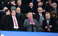 Lincoln City chairman Clive Nates, left, and Lincoln City's vice-chairman Roger Bates<br /> <br /> Photographer Andrew Vaughan/CameraSport<br /> <br /> Emirates FA Cup Third Round - Everton v Lincoln City - Saturday 5th January 2019 - Goodison Park - Liverpool<br />  <br /> World Copyright &copy; 2019 CameraSport. All rights reserved. 43 Linden Ave. Countesthorpe. Leicester. England. LE8 5PG - Tel: +44 (0) 116 277 4147 - admin@camerasport.com - www.camerasport.com
