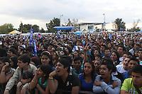 durante su presentacion en el concierto Exa 2013 en Leon Guanajuato.<br /> (*Foto:TiradorTercero/NortePhoto*)