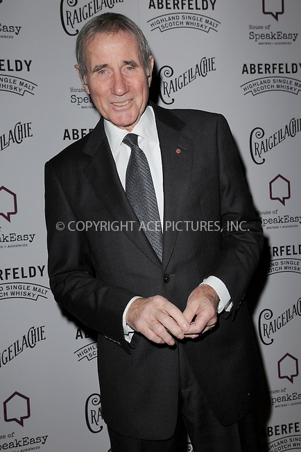 WWW.ACEPIXS.COM<br /> January 28, 2015 New York City<br /> <br /> Jim Dale attending the 2015 House Of SpeakEasy Gala at City Winery on January 28, 2015 in New York City.<br /> <br /> Please byline: Kristin Callahan/AcePictures<br /> <br /> ACEPIXS.COM<br /> <br /> Tel: (646) 769 0430<br /> e-mail: info@acepixs.com<br /> web: http://www.acepixs.com