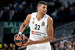 Walter Tavares of Real Madrid during Turkish Airlines Euroleague match between Real Madrid and FC Barcelona Lassa at Wizink Center in Madrid, Spain. December 13, 2018. (ALTERPHOTOS/Borja B.Hojas)