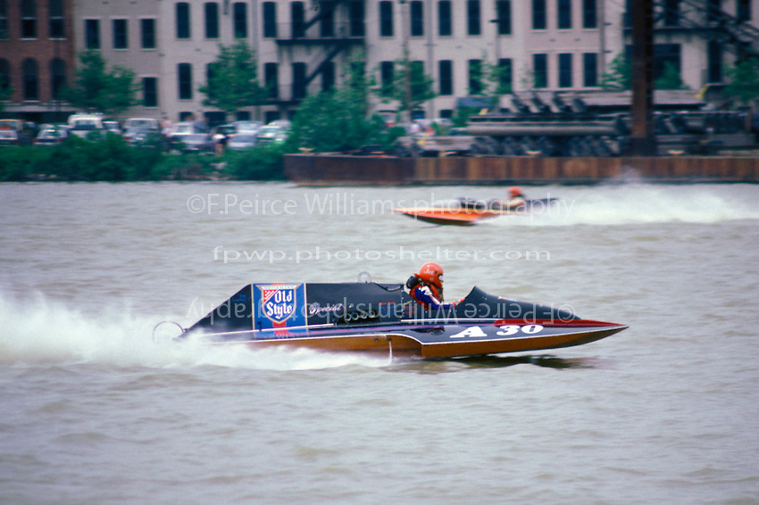 """A-30 """"Old Style Special""""  (2.5 MOD class hydroplane(s) Toledo, Ohio 1986 Staudacer version"""