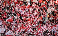 FUSSBALL      DFB POKAL FINALE       SAISON 2011/2012 Borussia Dortmund - FC Bayern Muenchen   12.05.2012 Fans FC Bayern Muenchern