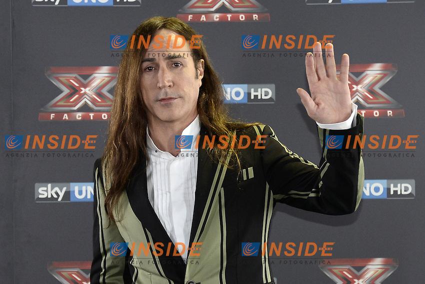 Db Milano 26/10/2016 - photocall trasmissione Tv 'X-Factor' / foto Daniele Buffa/Image/Insidefoto <br /> nella foto: Manuel Agnelli