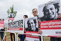 2015/06/03 Berlin | Reporter ohne Grenzen gegen Al Sisi-Besuch