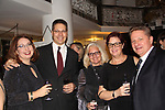 Thilo Koenigsberger and friends - Hearts of Gold annual All That Glitters Gala - 24 years of support to New York City's homeless mothers and their cihldren - (VIP Reception - Silent Auction) was held on November 7, 2018 at Noir et Blanc and the 40/40 Club in New York City, New York.  (Photo by Sue Coflin/Max Photo)
