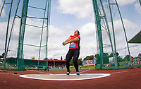 Carolin PAESLER of Germany in the Hammer Throw during the Muller Grand Prix Birmingham Athletics at Alexandra Stadium, Birmingham, England on 20 August 2017. Photo by Andy Rowland.