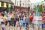 Main Street is packed at the Killarney Tidy town's celebration street party on Sunday