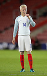 England's Will Hughes in action during the Under 21 International Friendly match at the St Mary's Stadium, Southampton. Picture date November 10th, 2016 Pic David Klein/Sportimage
