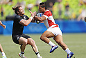Lomano Lava Lemeki (JPN), <br /> AUGUST 9, 2016 - / Rugby Sevens : <br /> Men's Pool Round <br /> between New Zeland 12-14 Japan <br /> at Deodoro Stadium <br /> during the Rio 2016 Olympic Games in Rio de Janeiro, Brazil. <br /> (Photo by Yusuke Nakanishi/AFLO SPORT)