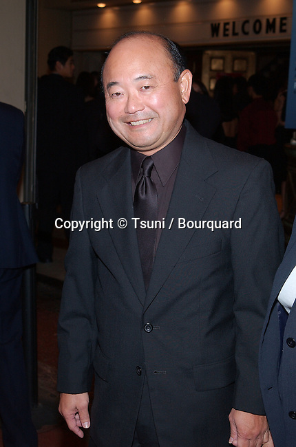 Clyde Kusatsu at the 2nd AMMYS Awards  at the Orpheum Theatre in Downtown Los Angeles. November 10, 2001.            -            KusatsuClyde02.jpg