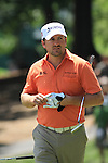 Graeme McDowell (NIR) playing the 9th.on practice day of the USGA at Congressional, Bethesda, Washington, 15/6/11.Picture Fran Caffrey/www.golffile.ie