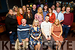 Ciara O'Sullivan from Leith East celebrating her 30th birthday on Saturday night Imperial hotel, Tralee, seated l-r: Ciara and Sylvie O'Sullivan, John Moynihan and Helena O'Sullivan.