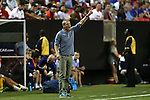 22 July 2015: U.S. head coach Jurgen Klinsmann (GER). The United States Men's National Team played the Jamaica Men's National Team at the Georgia Dome in Atlanta, Georgia in a 2015 CONCACAF Gold Cup semifinal match. Jamaica won the game 2-1.