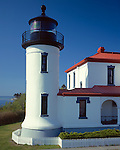 Fort Casey State Park, Whidby Island, WA<br /> Admiralty Bay Lighthouse