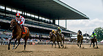 June 7, 2019 : #7 Separationofpowers, ridden by jockey Jose Ortiz, wins the Bed O' Roses Invitational on Belmont Stakes Festival Friday at Belmont Park in Elmont, New York. Scott Serio/Eclipse Sportswire/CSM