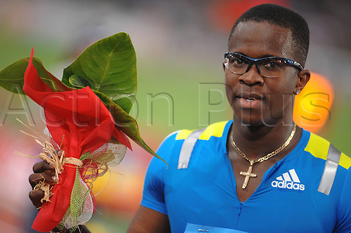 10 06 2010  Tyron Robles Cuba l WINNER 110m Hurdles  Roma 10 6 2010 Olympic Stadium Rome, Italy. Diamond League Athletics.