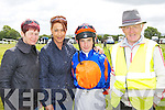 Marian Culloty, Bernie Carver Killarney, Killian Leonard Kanturk and Kevin McCarthy Dooks, Glenbeigh at the Castleisland races on Sunday