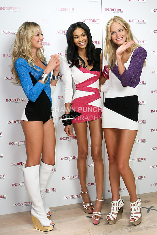 "during the ""Incredible by Victoria's Secret"" launch at the Victoria Secret SOHO Store, August 10, 2010."