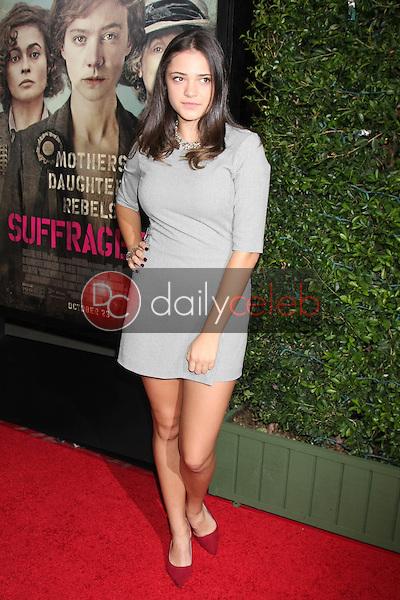 "Luna Blaise<br /> at the ""Suffragette"" Premiere, Samuel Goldwyn Theater, Beverly Hills, CA 10-20-15<br /> David Edwards/DailyCeleb.Com 818-249-4998"