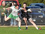 St Patricks David McQuillan Walterstown Richie O'Dowd. Photo:Colin Bell/pressphotos.ie