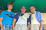 Some of the crew from the Ballinskelligs Inshore Rescue team cooking up a storm at their Bar-B-Que fund raiser in Cable O'Leary's on Sunday front l-r; Aonghus Sugrue, David Walsh & Richie Greene.