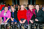 Supporting Ruth Wallace and James Halloran on Saturday night were l-r  Triona Halloran, Joan Fitzgerald, Joe Wallace, Maureen Wallace and Michelle McCormac at the Ardfert Strictly Come Dancing at  Ballyroe Heights Hotel on Saturday