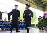 Alana Rogne graduates at the 2015 Western Nevada College Commencement held at the Pony Express Pavilion in Carson City, Nev., on Monday, May 18, 2015.<br /> Photo by Tim Dunn
