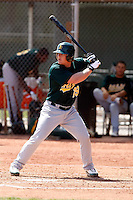 Danny Putnam - Oakland Athletics - 2009 spring training.Photo by:  Bill Mitchell/Four Seam Images