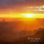 Sunset, Point Sublime, North Rim, Grand Canyon National Park, Arizona