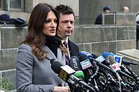 JAN 06 Attorney's Speak To The Media at Day 1 Of Harvey Weinstein Rape Trial