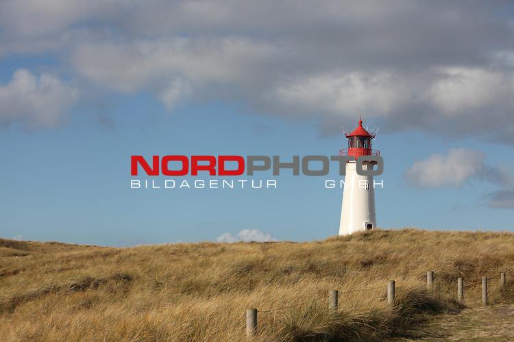 08.08.2013, Nordseeinsel Sylt, GER, im Bild Leuchtturm List-West, Foto © nph / Kohring