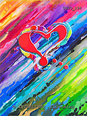 Marie, MODERN, MODERNO, paintings+++++,USJO194,#N# Joan Marie abstract heart