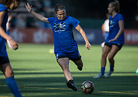 Seattle, WA - Saturday July 15, 2017: Christine Nairn during a regular season National Women's Soccer League (NWSL) match between the Seattle Reign FC and the Boston Breakers at Memorial Stadium.