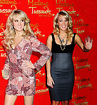Three Time Grammy Award-winning Recording Artist Carrie Underwood unveils her wax figure at Madame Tussauds New York on October 22, 2008 in New York City. (Photo by Sue Coflin/Max Photos)..