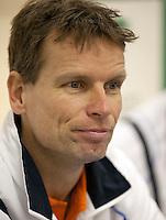 02-03-11Tennis, Oekraine, Charkov, Daviscup, Oekraine - Netherlands, Captain Jan Siemerink
