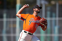 San Francisco Giants pitcher CJ Gettman (51) during an Instructional League game against the Colorado Rockies on October 8, 2016 at the Giants Baseball Complex in Scottsdale, Arizona.  (Mike Janes/Four Seam Images)