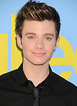 HOLLYWOOD, CA - SEPTEMBER 12: Chris Colfer  arrives at the 'GLEE' Premiere Screening And Reception at Paramount Studios on September 12, 2012 in Hollywood, California.