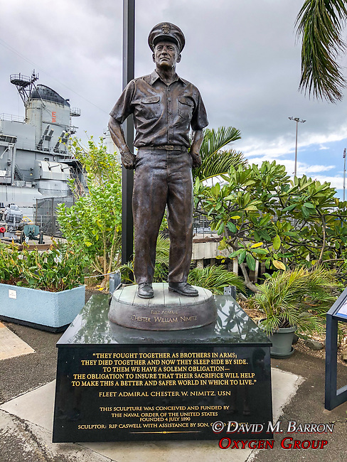 Fleet Admiral Chester William Nimitz Statue
