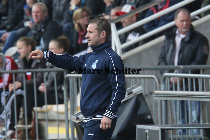 Trainer Sven Kahler (MSV) - 1. FFC Frankfurt vs. MSV Duisburg
