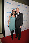 """LOS ANGELES, CA. - March 15: Chris McGurk, CEO of Overture Films (R) and wife Jamie arrives at the Los Angeles premiere of """"City Island"""" held at Westside Pavillion Cinemas on March 15, 2010 in Los Angeles, California."""