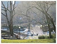 NEW YORK, NY - FEBRUARY 15: Carl Schurz Park's hockey field in Yorkville, New York on February 15, 2013. Photo Credit: Thomas R Pryor