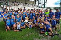 The Bay Of Plenty men's and women's teams on day two of the 2018 Bayleys National Sevens at Rotorua International Stadium in Rotorua, New Zealand on Sunday, 14 January 2018. Photo: Dave Lintott / lintottphoto.co.nz
