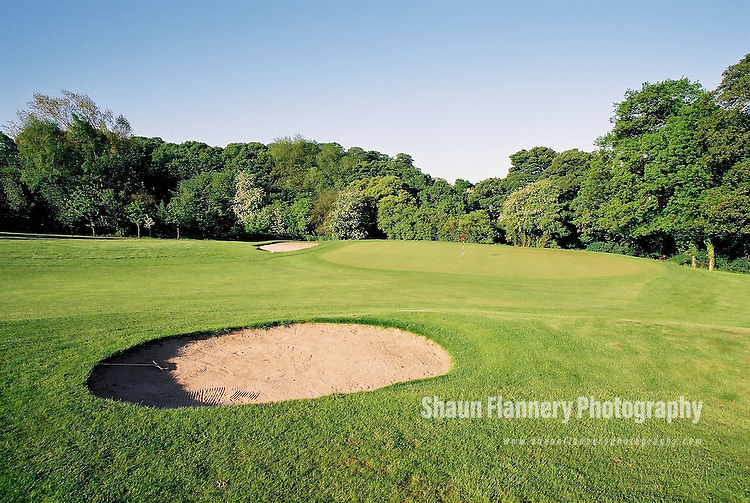 Pix: Shaun Flannery/shaunflanneryphotography.com...COPYRIGHT PICTURE>>SHAUN FLANNERY>01302-570814>>07778315553>>..18th May 2004..............Hickleton Golf Club, Lidgett Lane, Hickleton, Doncaster, DN5 7BE..Golf Course - 16th green.