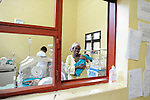 The neonatal ward Gisenyi District Hospital,.Northwest Rwanda....