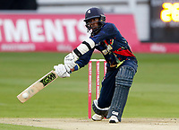 Daniel Bell-Drummond hits out for Kent during the Vitality Blast T20 game between Kent Spitfires and Somerset at the St Lawrence Ground, Canterbury, on Thur Aug 16, 2018