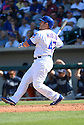 Chicago Cubs Miguel Montero (47) during a spring training game against the San Diego Padres on March 9, 2015 at Sloan Park in Mesa, AZ. The Padres beat the Cubs 6-3.