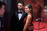 Jesus Castro and Hiba Abouk attends red carpet of Goya Cinema Awards 2018 at Madrid Marriott Auditorium in Madrid , Spain. February 03, 2018. (ALTERPHOTOS/Borja B.Hojas)