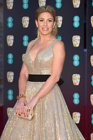 Hofit Golan arriving for the BAFTA Film Awards 2018 at the Royal Albert Hall, London, UK. <br /> 18 February  2018<br /> Picture: Steve Vas/Featureflash/SilverHub 0208 004 5359 sales@silverhubmedia.com