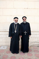 Coptic pope elections. Nov 4th, 2012. Cairo, Egypt.