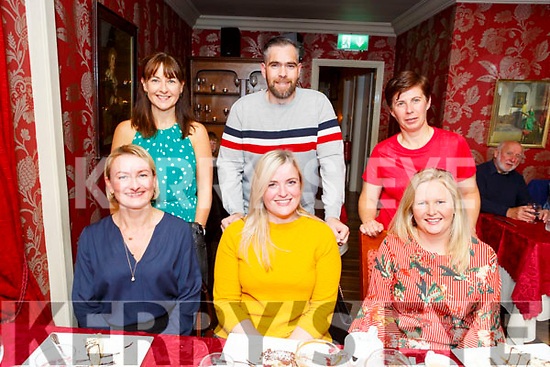 Enjoying the evening in Cassidys on Friday.<br /> Seated l to r: Monica Magda, Helena Cronin and Brenda McNamara<br /> Back l to r: Michelle Kelliher, Nicholas O'Sullivan and Cait O'Leary.